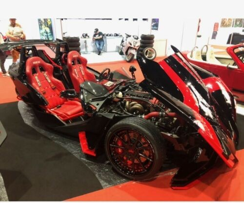 2016 Polaris slingshot black/red for sale