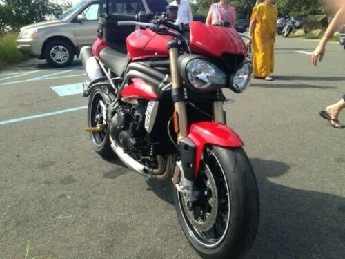 2016 Triumph Speed Triple S Red for sale