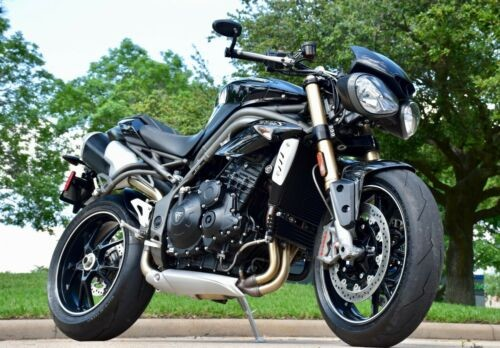 2016 Triumph Speed Triple Metallic Black craigslist