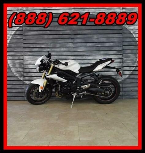 2016 Triumph Street Triple ABS -- White for sale craigslist