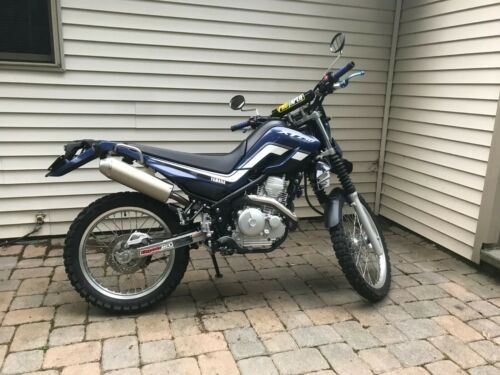 2016 Yamaha XT250 XT250 Blue for sale