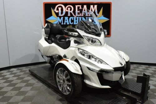 2017 Can-Am Spyder RT Limited SE6 -- White for sale