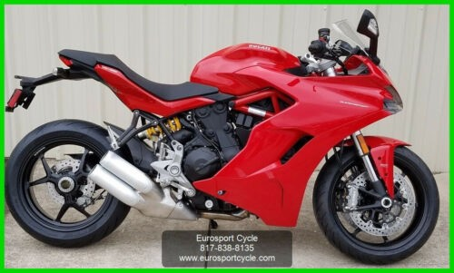 2017 Ducati Supersport Red for sale craigslist