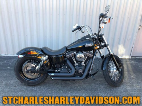 2017 Harley-Davidson Dyna FXDB - Street Bob Black for sale