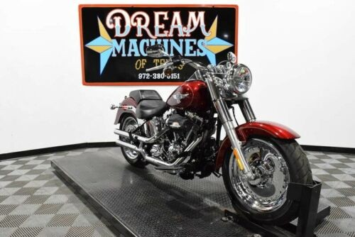 2017 Harley-Davidson FLSTF - Softail Fat Boy -- Red for sale