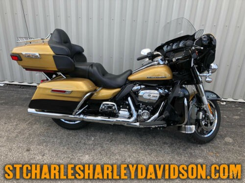 2017 Harley-Davidson Touring FLHTK - Ultra Limited Black Hills Gold/Blk Quartz for sale craigslist