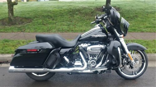 2017 Harley-Davidson Touring Black for sale