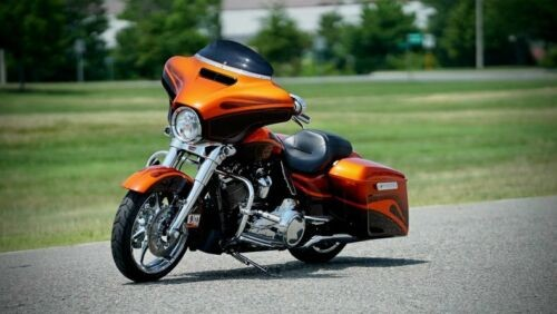 2017 Harley-Davidson Touring Orange for sale craigslist
