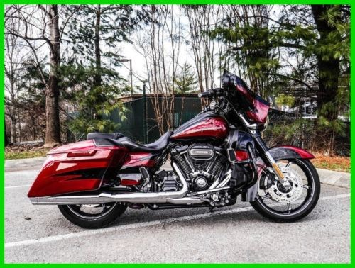2017 Harley-Davidson Touring SF BLK/ATMC RED W/PINSTRIPE for sale