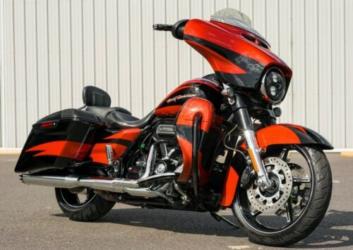2017 Harley-Davidson Touring Sunburst Orange/Starfire Black for sale craigslist