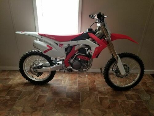 2017 Honda CRF Red for sale craigslist