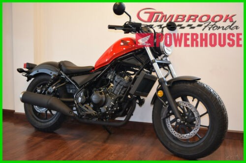 2017 Honda Rebel 300 Red for sale craigslist