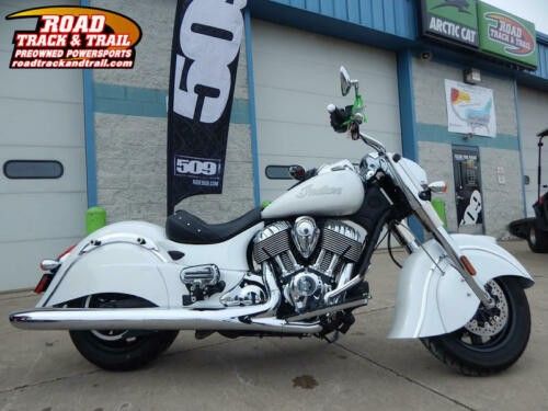 2017 Indian Chief® Classic Pearl White -- White for sale craigslist