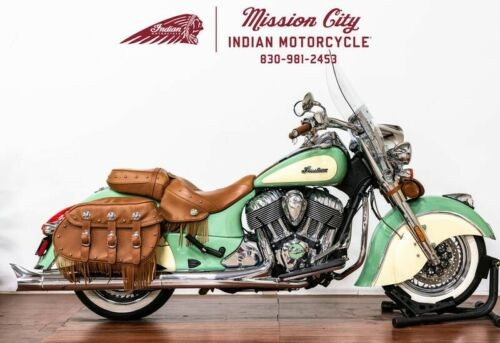 2017 Indian Chief® Vintage Willow Green Over Ivory Cream -- Green craigslist