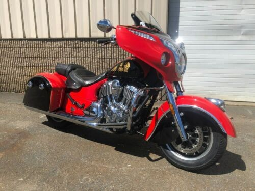 2017 Indian Chieftain Red and Black for sale