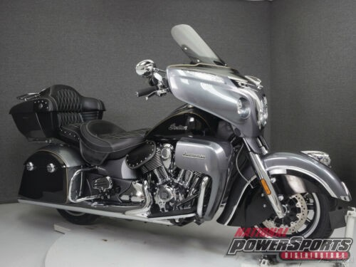 2017 Indian Roadmaster WABS STEEL GRAY/THUNDER BLACK for sale