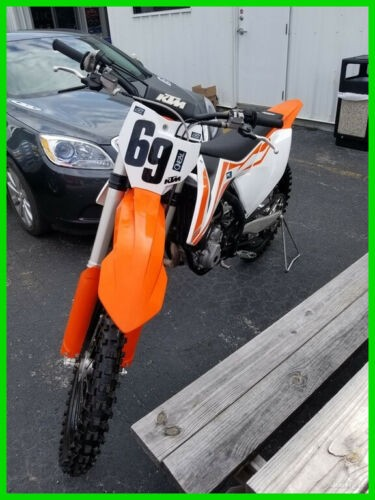 2017 KTM SX 250 F WHITE/ORANGE for sale