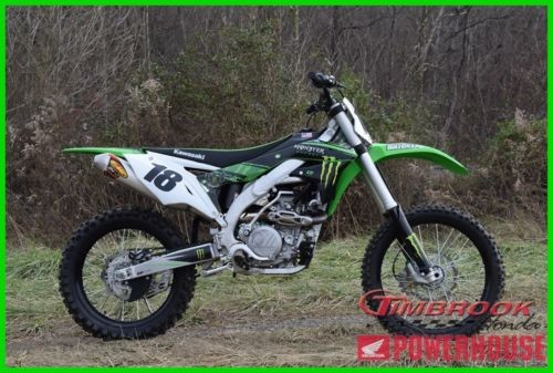 2017 Kawasaki KX 450F Green for sale craigslist