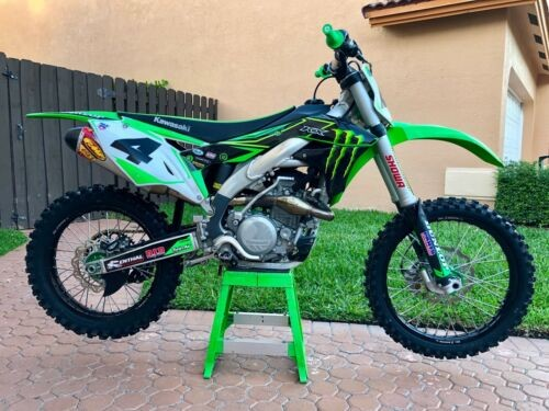 2017 Kawasaki KXF Green for sale craigslist