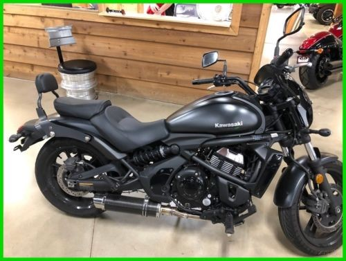 2017 Kawasaki Vulcan Black/Gray for sale craigslist