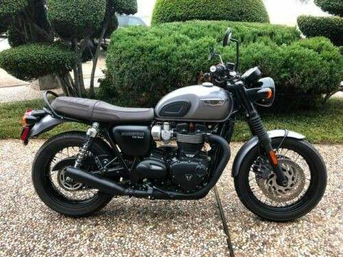 2017 Triumph BONNEVILLE T120 -- Gray for sale craigslist