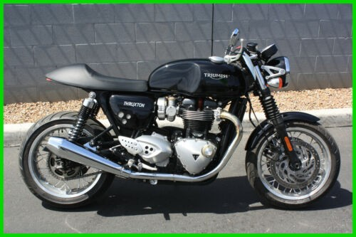 2017 Triumph Thruxton Triumph Thruxton 1200 Black for sale craigslist