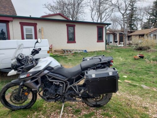 2017 Triumph Tiger Gray for sale craigslist