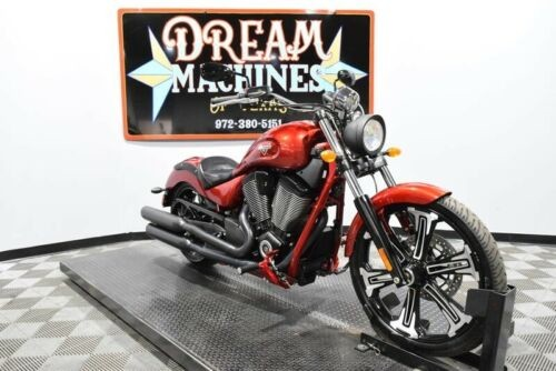 2017 Victory Vegas -- Red for sale craigslist