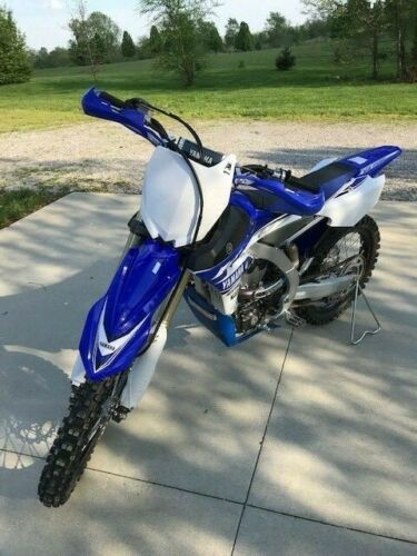 2017 Yamaha YZ Blue for sale