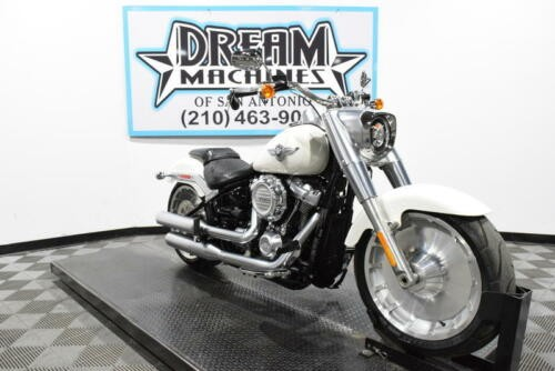 2018 Harley-Davidson FLFB - Softail Fat Boy -- Bonneville Salt Pearl for sale