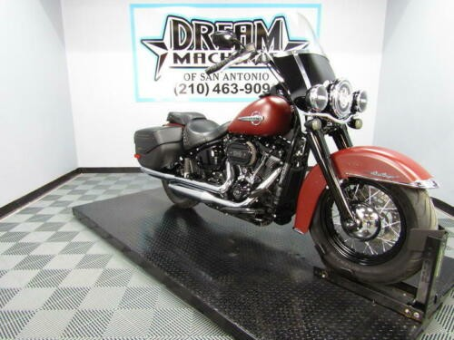 2018 Harley-Davidson FLHCS - Softail Heritage Classic 114 -- Red for sale craigslist