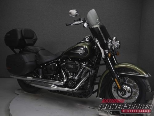 2018 Harley-Davidson FLHCS HERITAGE CLASSIC W/ABS FLHC HERITAGE CLASSIC Black for sale