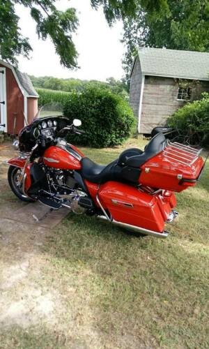 2018 Harley-Davidson Touring Red for sale