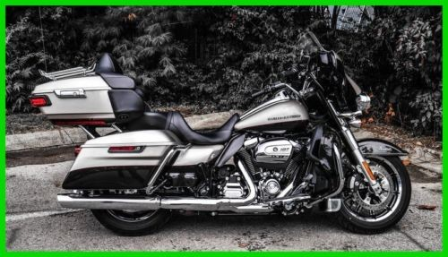 2018 Harley-Davidson Touring FLHTKL - Ultra Limited Low SLVFRTN/SMTRBRW for sale