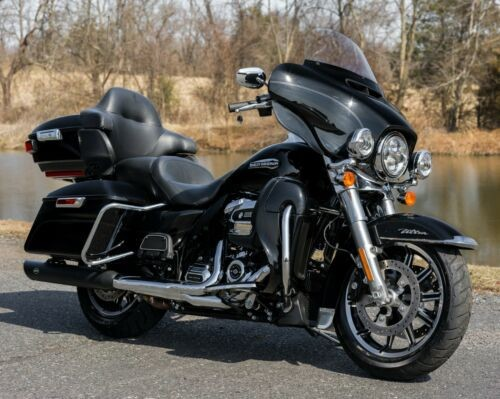 2018 Harley-Davidson Touring Vivid Black for sale craigslist