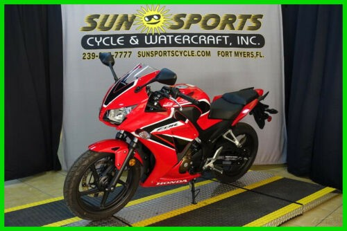 2018 Honda CBR300R Red for sale