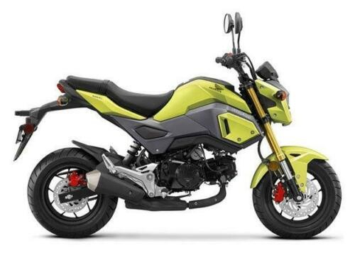 2018 Honda Grom Lime Yellow for sale