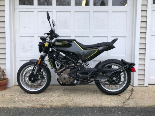 2018 Husqvarna Svartpilen 401 Black for sale craigslist