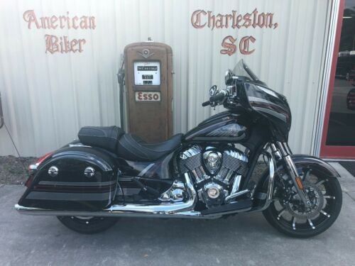 2018 Indian Chieftain Limited Thunder Black Pearl with Graphics for sale