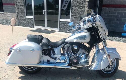 2018 Indian Chieftain® Classic -- Silver for sale craigslist