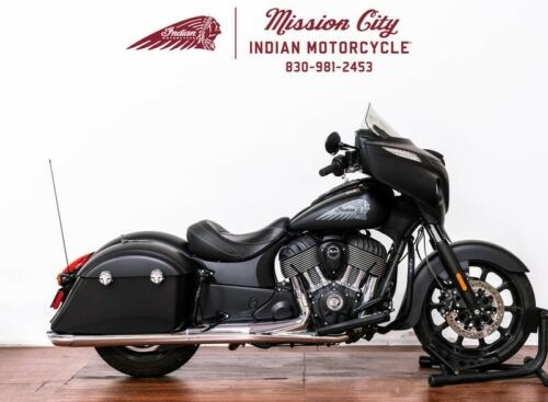2018 Indian Chieftain® Dark Horse® ABS Thunder Black Smoke -- Black for sale