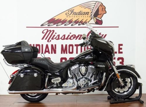 2018 Indian Roadmaster® ABS Thunder Black -- Black for sale