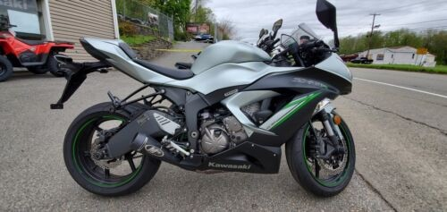 2018 Kawasaki Ninja -- Silver for sale craigslist