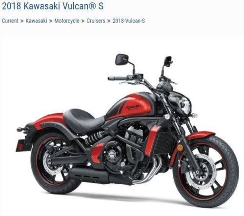 2018 Kawasaki Vulcan S ABS SE EN650JDFA Orange for sale craigslist