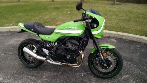 2018 Kawasaki Z900RS Cafe Green for sale