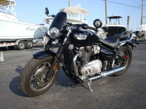 2018 Triumph Bonneville Black for sale craigslist
