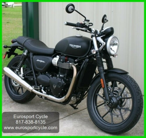 2018 Triumph Street Twin Matt Black for sale craigslist