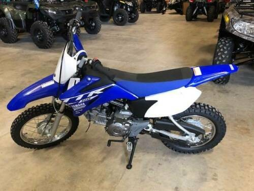 2018 Yamaha TT-R110E -- Blue for sale
