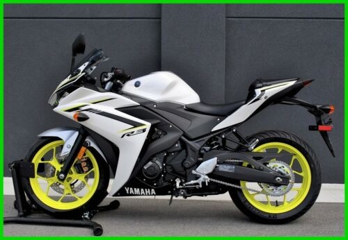 2018 Yamaha YZF R3 White Pearl for sale craigslist
