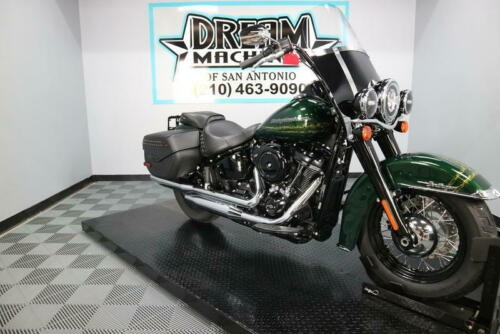 2019 Harley-Davidson FLHC - Softail Heritage Classic -- Green craigslist